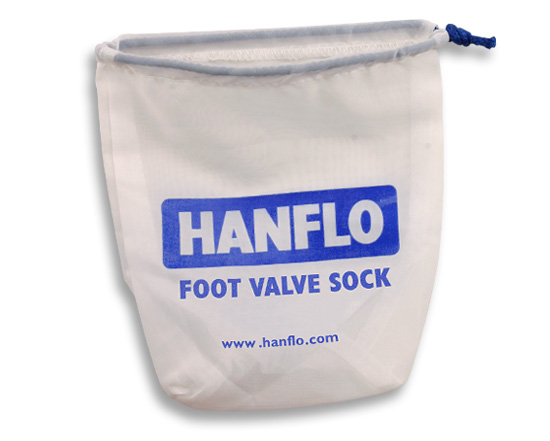 Large Hanflo Foot Valve Sock